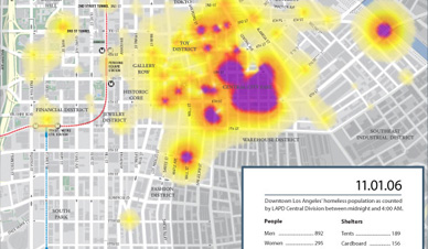 Homeless Map Data