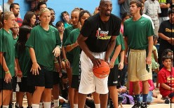 Kobe Bryant, Sprite Revamp Boys & Girls Club Of Santa Barbara Gym