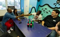 Kobe & Jay handshake