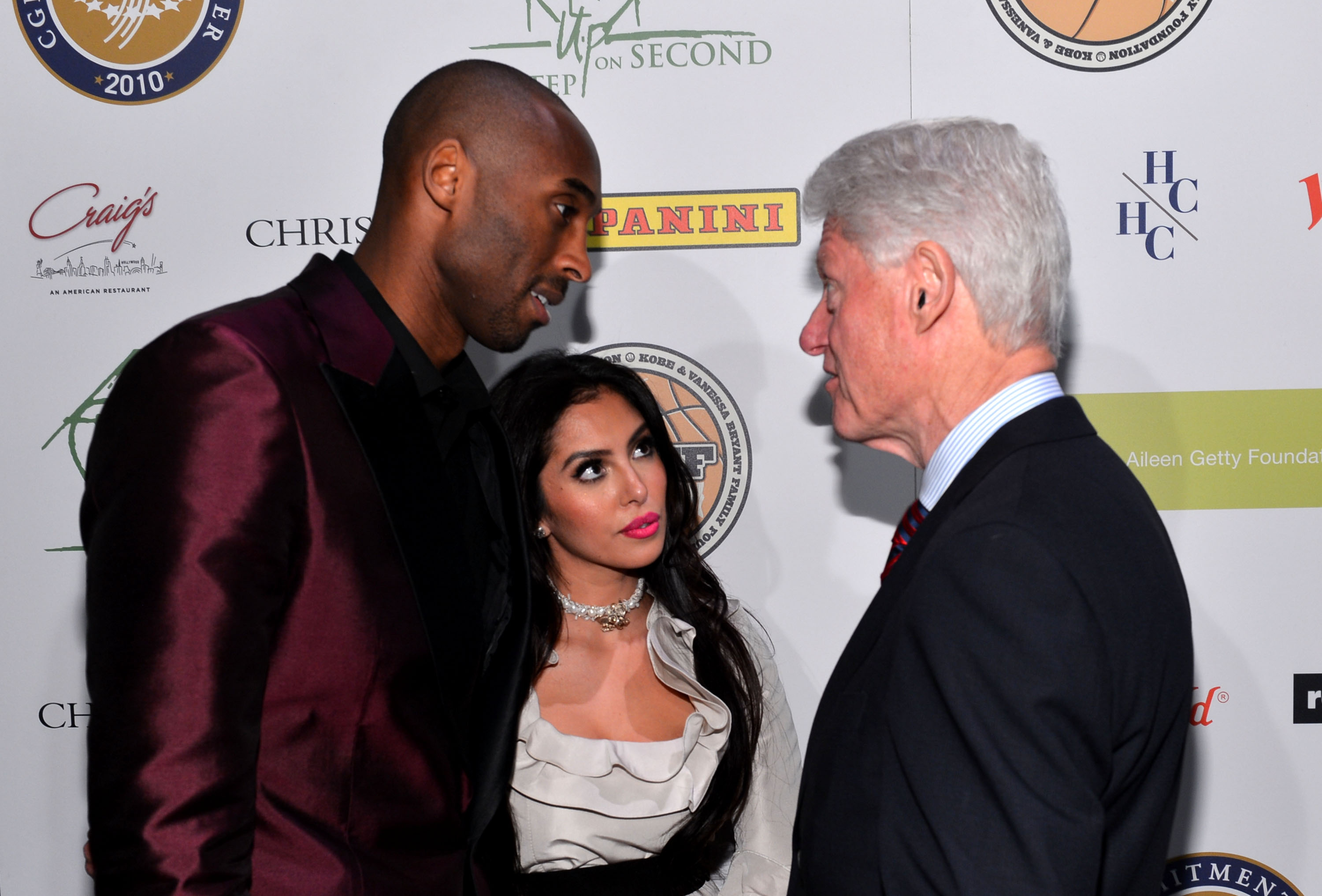 joined President Bill Clinton and Kobe Bryant at the grand opening of ...